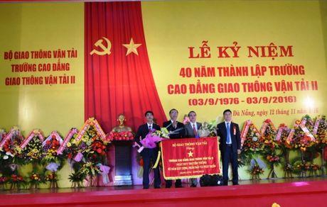 Ky niem 40 nam thanh lap truong Cao dang Giao thong van tai II - Anh 4