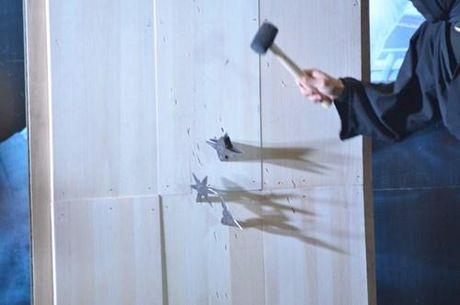 Ninja Nhat Ban den Ha Noi tro tai dau kiem, nem phi tieu - Anh 6