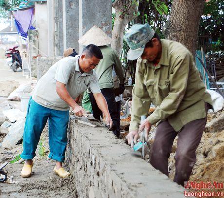 Tham dinh tieu chi nong thon moi tai Nam Dan, Nghi Loc - Anh 2