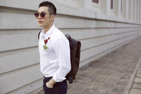 Noo Phuoc Thinh ru Ngo Kien Huy cung nhau lang xe ao somi theu hoa noi - Anh 10
