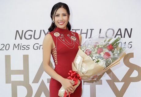 Nguyen Thi Loan lam gi sau khi lot top 20 Hoa hau Hoa binh quoc te 2016? - Anh 1