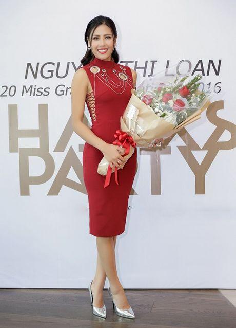 Nguyen Thi Loan lam gi sau khi lot top 20 Hoa hau Hoa binh quoc te 2016? - Anh 2