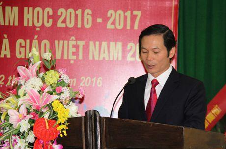 Truong Trung cap nghe KT-KT cong doan Ninh Binh: Khai giang nam hoc moi va Ky niem 34 nam Ngay Nha giao VN - Anh 1