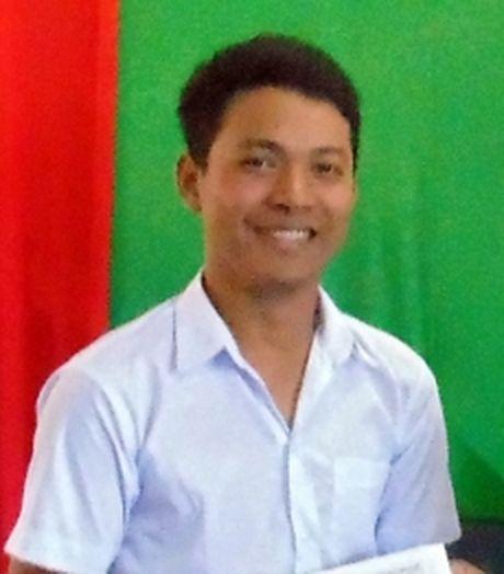 Chang sinh vien Khmer hoc gioi - Anh 1