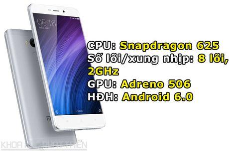 Smartphone cam bien van tay, RAM 3 GB, pin 'khung', gia gan 3 trieu - Anh 1