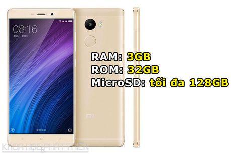 Smartphone cam bien van tay, RAM 3 GB, pin 'khung', gia gan 3 trieu - Anh 2