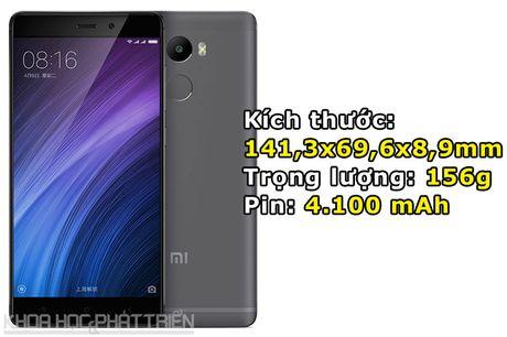 Smartphone cam bien van tay, RAM 3 GB, pin 'khung', gia gan 3 trieu - Anh 3