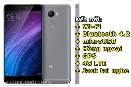 Smartphone cam bien van tay, RAM 3 GB, pin 'khung', gia gan 3 trieu - Anh 4