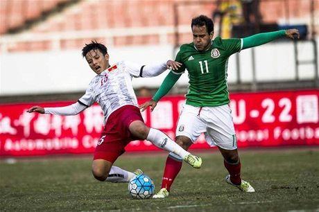 Cap nhat ket qua U22 Viet Nam vs U22 Uzbekistan (H1) - Anh 1