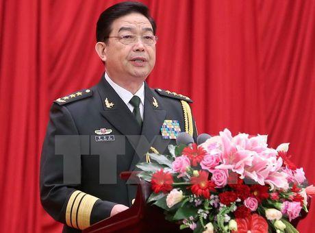 Bo truong Quoc phong Trung Quoc tham Iran de thuc day hop tac quan su - Anh 1