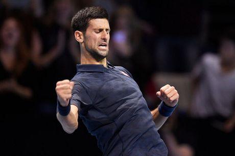 ATP World Tour Finals: Djokovic nguoc dong gianh chien thang - Anh 1