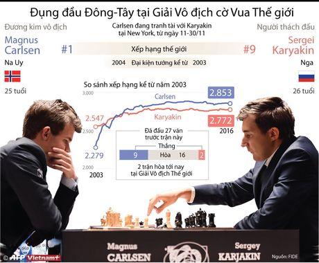 Dong-Tay dung do o giai vo dich co Vua the gioi - Anh 1