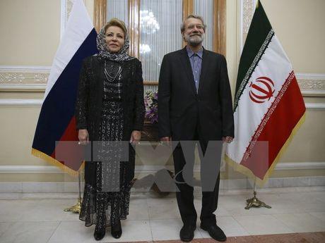 Iran-Nga tang cuong hop tac giai quyet cac van de Trung Dong - Anh 1