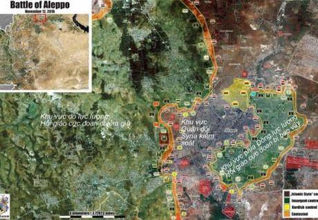 Chien su Aleppo: Quan chinh phu dai thang, IS lo diem yeu - Anh 1