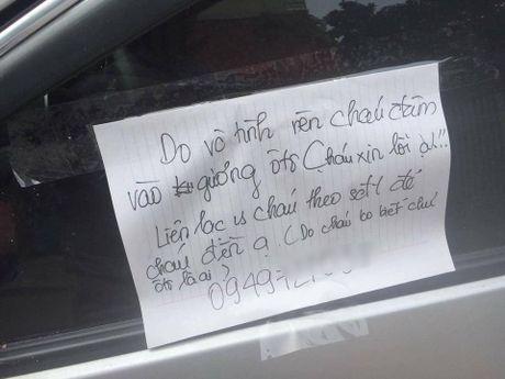 Loi xin loi cua nam sinh lam vo guong va can bo ngoai vu danh cu gia - Anh 1