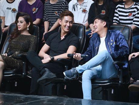 Ngo Kien Huy nguong chin mat vi bi Truong Giang che tren TV - Anh 3