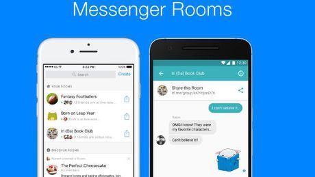 Facebook thu nghiem phong Chat Room moi cho Messenger - Anh 1