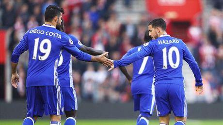 Hazard va Costa ru nhau dinh chan thuong, Chelsea lo sot vo - Anh 2