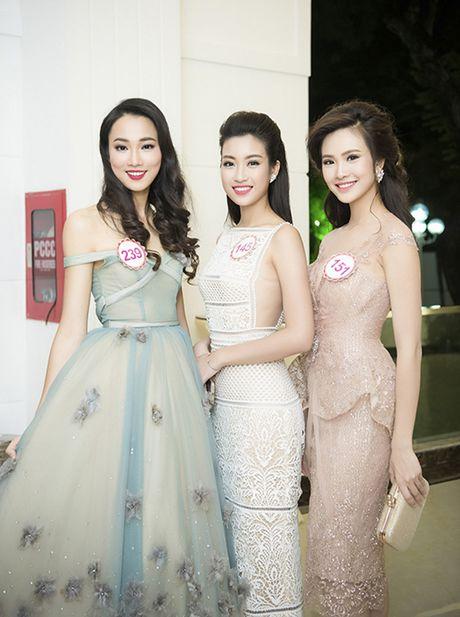 Hoa hau Do My Linh dung vay ao voi loat sao Viet - Anh 6
