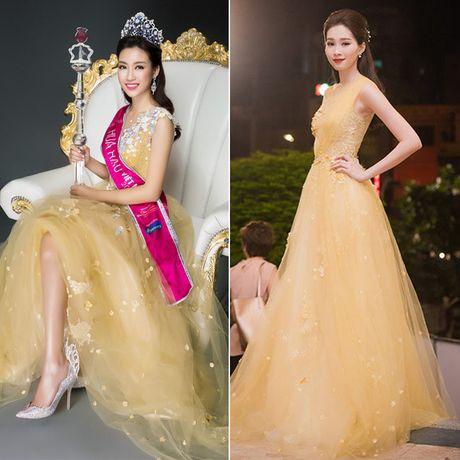 Hoa hau Do My Linh dung vay ao voi loat sao Viet - Anh 8