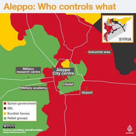 Quan doi Syria giai phong thanh pho Aleppo 'trong tuong lai gan' - Anh 2