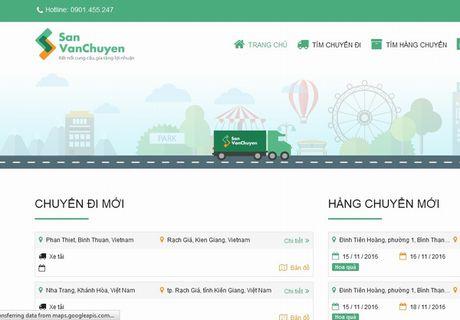 San giao dich van chuyen kieu 'Uber' tai Viet Nam - Anh 1