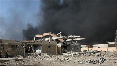 Danh bom lieu chet o Iraq, 19 nguoi thuong vong - Anh 1