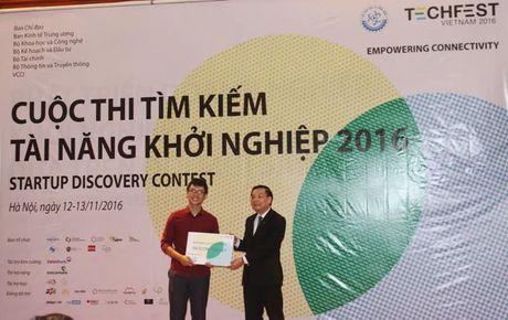 Techfest 2016: Gan 3.000 luot nguoi tham gia, 220 luot ket noi dau tu - Anh 1