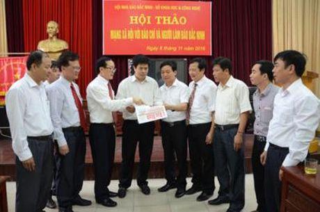 Hoi thao 'Mang xa hoi voi bao chi va nguoi lam bao Bac Ninh' - Anh 1