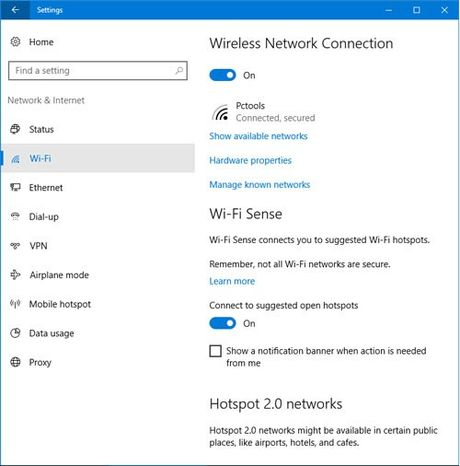 Wi-Fi cai tien tren Windows 10 Anniversary Update - Anh 5