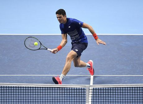Xem Djokovic va Raonic thang luot mo man ATP Finals - Anh 5