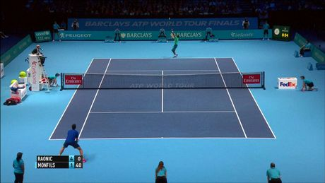 Xem Djokovic va Raonic thang luot mo man ATP Finals - Anh 7