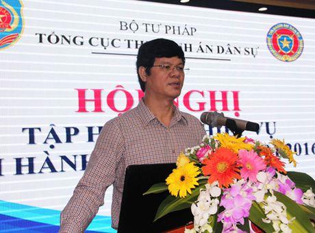 Tap huan nghiep vu cho 1.000 can bo nganh Thi hanh an dan su - Anh 3