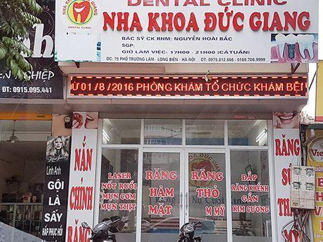 Long Bien – Ha Noi: Nghi van hang loat co so y duoc tu nhan khong phep - Anh 1