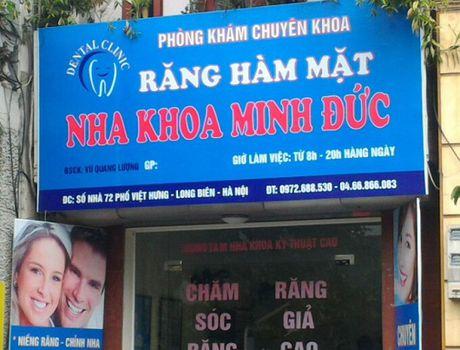 Long Bien – Ha Noi: Nghi van hang loat co so y duoc tu nhan khong phep - Anh 3