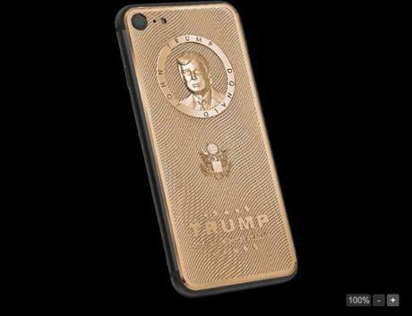 iPhone 7 dat vang tan tong thong Donald Trump gia 68 trieu dong - Anh 1