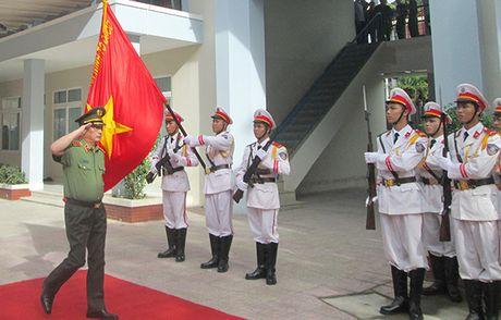 Thu truong Nguyen Van Thanh kiem tra cong tac tai Canh sat PCCC tinh Khanh Hoa - Anh 1