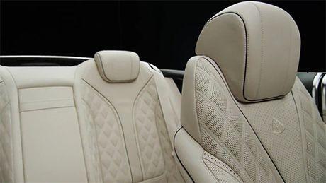 Mercedes-Maybach S650 mui tran lo dien - Anh 7