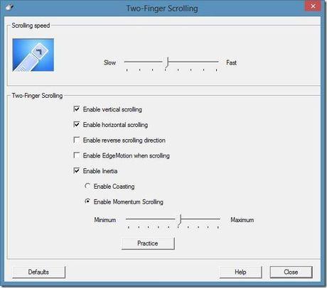 Thay doi huong cuon trang cua Touchpad tren Windows 10 - Anh 6