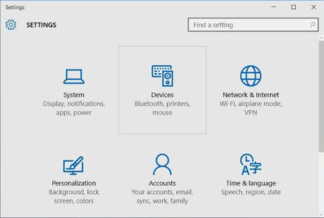 Thay doi huong cuon trang cua Touchpad tren Windows 10 - Anh 8