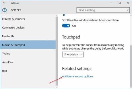 Thay doi huong cuon trang cua Touchpad tren Windows 10 - Anh 9