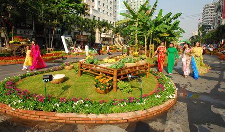 Nhieu loai hoa moi la tai duong hoa Nguyen Hue dip tet nam nay - Anh 3