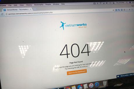 Vietcombank khuyen cao nguoi dung Vietnamworks thay doi mat khau tai khoan - Anh 1