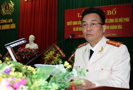 Dai ta Nguyen Khac Cuong la Giam doc Cong an tinh Khanh Hoa - Anh 1