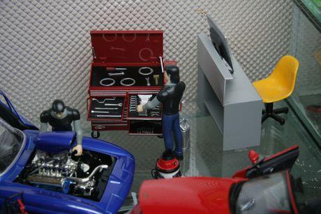 Diorama Garage: So thich dam chat nghe thuat danh cho fan xe - Anh 1