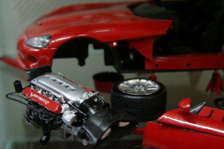 Diorama Garage: So thich dam chat nghe thuat danh cho fan xe - Anh 5