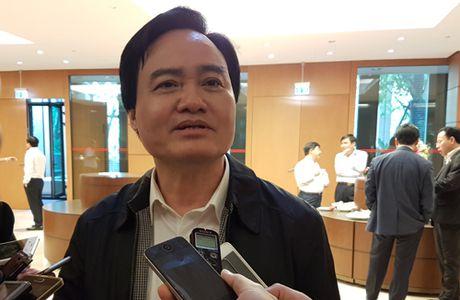 Bo truong Giao duc: 'Dieu giao vien di tiep khach la khong phu hop' - Anh 1