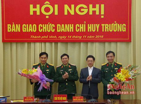 Bo CHQS tinh Nghe An co Chi huy truong moi - Anh 2