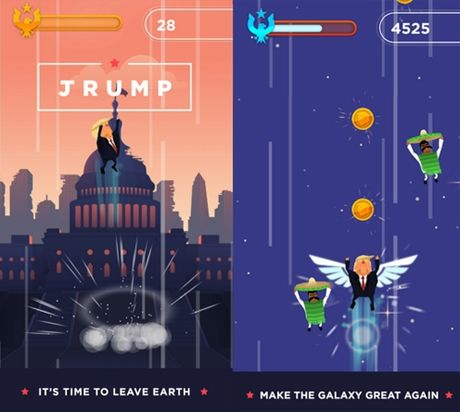 Top game co nhan vat chinh la ong Donald Trump - Anh 2