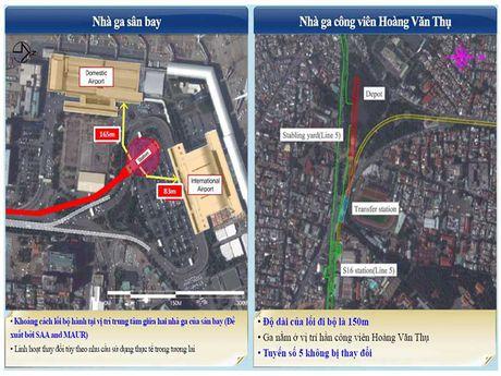 Se xay metro vao tan san bay Tan Son Nhat - Anh 1